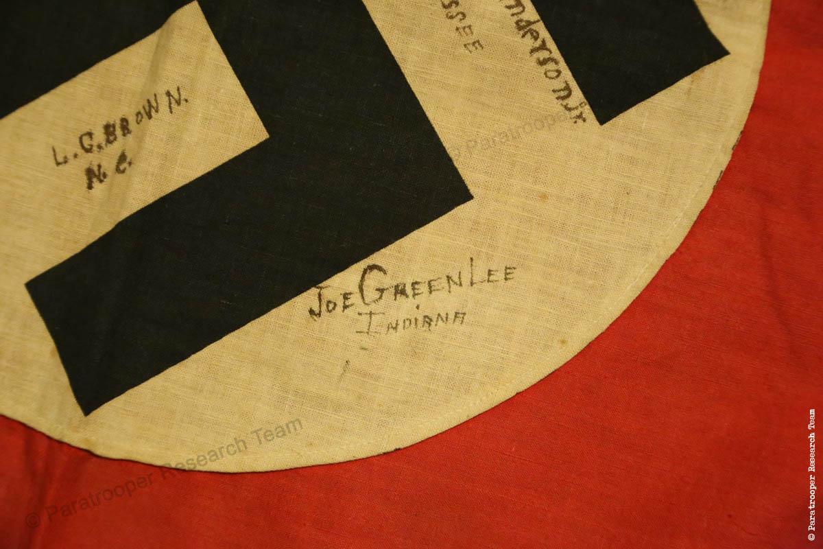 PRT © - Signed Souvenir German Flag