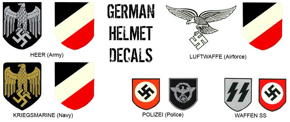 Para Research Team Website German Helmets Helmet Markings Wwii