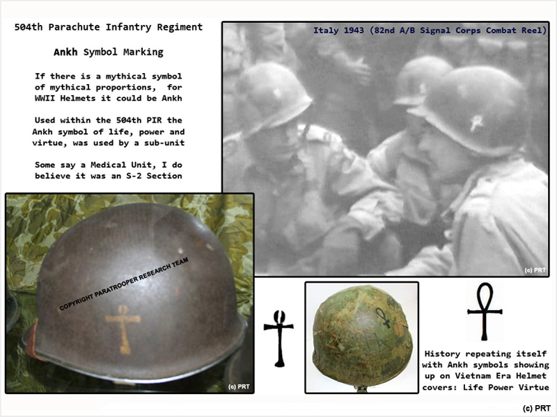 Paratrooper Research Team The Us M 1 Helmet Of Wwii