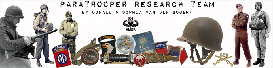 Paratrooper Research Team © - History Awaits