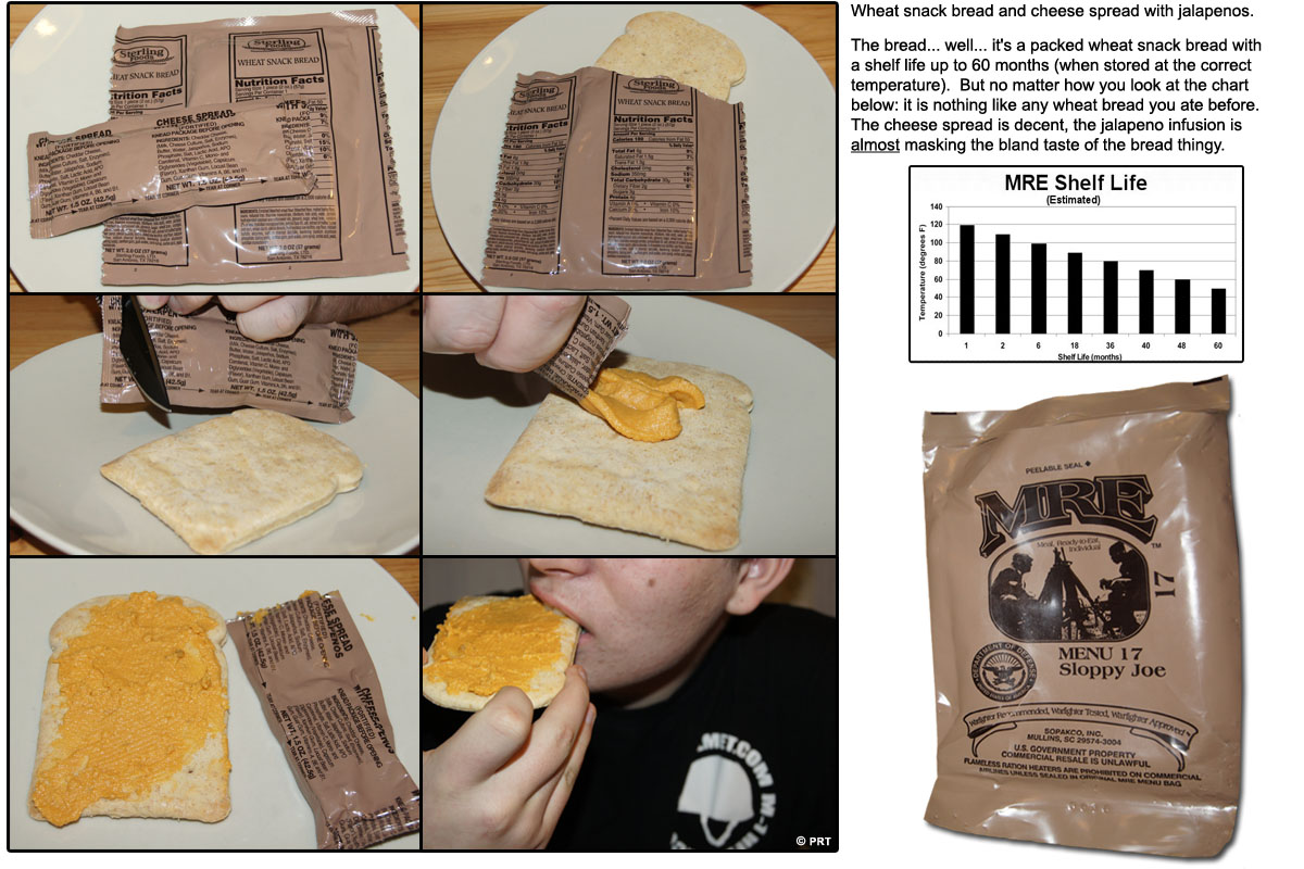 mre heating product meals stable beef self chili ingredients facts nutrition shelf minute life chef meal
