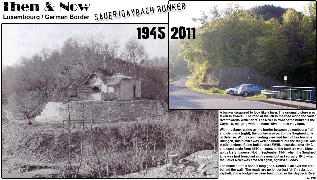 Para Research Team C LuxembourgGerman Border Then Now - Germany map then and now