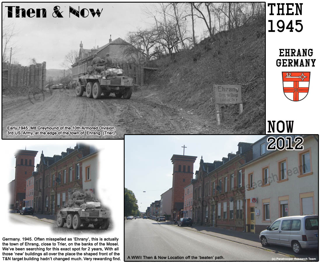 Para Research Team Germany Ehrang Then Now - Germany map then and now